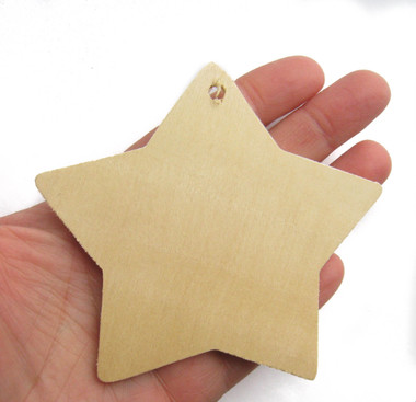star gift tag, wooden tags, natural, rustic, fairy, unfinished, tag, birthday, nakpunar, cutout, craftparts. woodworks