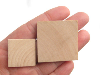 square wooden cutout, wooden square, jewelry pendant tiles, stamp block, nakpunar
