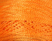 DMC Pearl Cotton Thread | Size 5 |741 Medium Tangerine by Nakpunar.