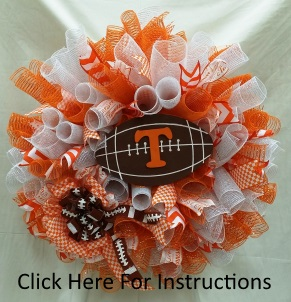 UT Wreath