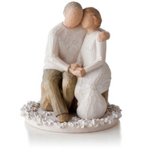 Willow Tree® Anniversary Cake Topper