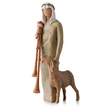 Willow Tree® Zampognaro (Shepherd with bagpipe)