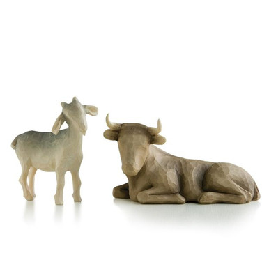 Willow Tree® Ox and Goat