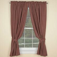 Park Designs York Shower Curtain Wine 72 X 72-Inch