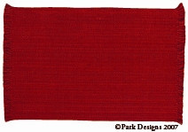 Casual Classics Red Placemat