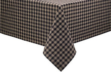"Sturbridge Black Tablecloth 54"" x 54"""