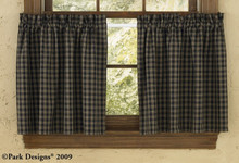 "Sturbridge Black Tiers 72"" x 24"""
