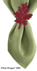 Casual Classics Leaf Napkin