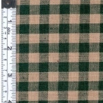 Green/Natural Woven Fabric