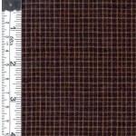 Black/Mustard Rustic Woven Fabric
