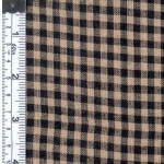 Black/Natural Rustic Woven Fabric 807952020588
