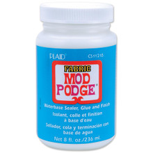 Mod Podge Fabric Finish - 8oz