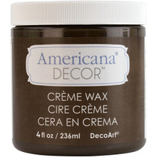 Americana Deep Brown Creme Wax 4oz