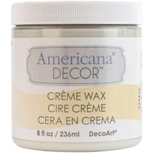 Americana Clear Creme Wax 8oz