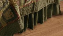 Tea Cabin Bedskirt-Victorian Heart
