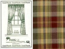 Panels- Lined- Saffron- 72x63- Park Designs
