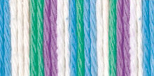 Sugar'n Cream Yarn Beach Ball Blue