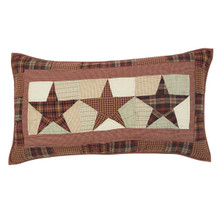 Luxury Sham- Abilene Star- 21x37- Victorian Heart
