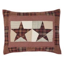 Standard Sham- Abilene Star- 21x27- Victorian Heart