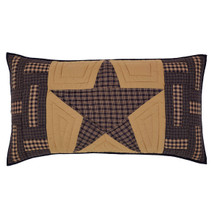 Luxury Sham- Teton Star- 21x37- Victorian Heart