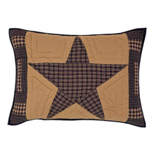 Standard Sham- Teton Star- 21x27- Victorian Heart