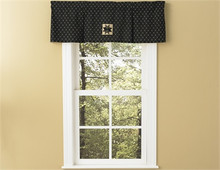 "Lined Pleat Valance- Carrington- 45""x15""- Park Designs"