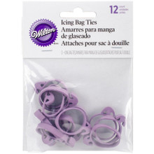 12pk Icing Bag Ties - Wilton