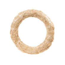 14in Straw Wreath