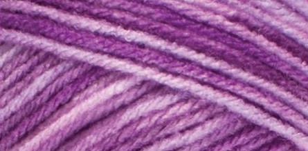 Red Heart Super Saver Yarn-Purple Tone