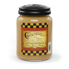 Honey Buttered Rolls- Candleberry Co. - 26oz