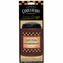 Hot Maple Toddy - Car Air Freshener - Candleberry Co.