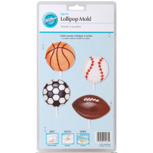 Sports Lollipop Mold