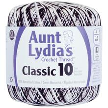 Aunt Lydia's Classic Crochet Thread Size 10