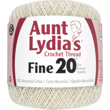 Aunt Lydia's Fine Crochet Thread Size 20