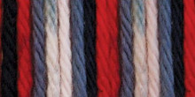 Sugar'n Cream Yarn Red, White & Blue