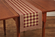 "York Wine Table Runner - 13""x54"""