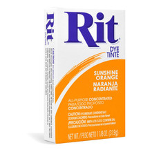 Sunshine Orange - Rit Dye - 1.125oz