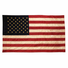 "Tea Stained American Flag - 60""x36"""