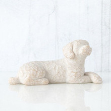 Willow Tree® Love my Dog (small, lying down)