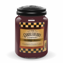 Cranberry Crumb Cake - Candleberry Co. - 26oz