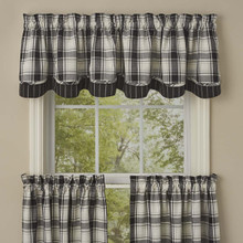 "Layered Valance (Lined) - 72""x16"" - Crossroads"