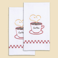 Coffee Time Hand Towels