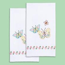 Fluttering Butterflies Hand Towels