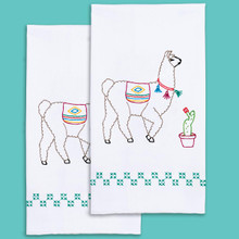 Llamas Hand Towels