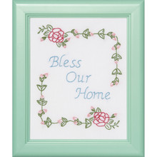 "Bless Our Home 8""x10"" Sampler"