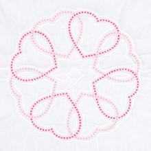 "Circle of Hearts 18"" Quilt Blocks"