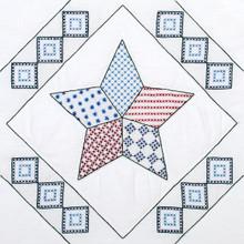 "Interlocking Star 18"" Quilt Blocks"