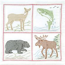 """Wilderness 18"""" Quilt Blocks"""