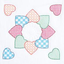 "Patchwork Hearts 18"" Quilt Blocks"