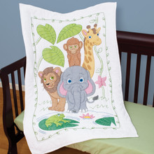 Jungle Crib Quilt Top